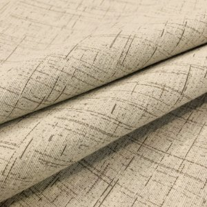 Tecidos Rústicos Impermeável Victoria Para Moveis Linhas Caramelo