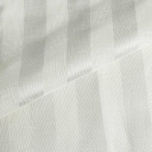 Linho Para Cortina Doha Parla Listrado Fendi Largura 3,00m - DOH54