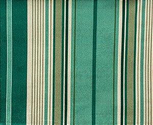 Tecido Gold Linhas Verde e Fendi - Hava 55