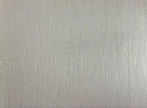Papel de Parede Moda Em Casa Areia com Linhas Branca e Glitter - 7011
