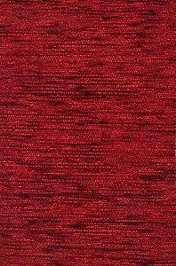 Tecido Chenille Rajado Vermelho - Pol 42