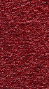 Tecido Chenille Zig-Zag Vermelho - Pol 44