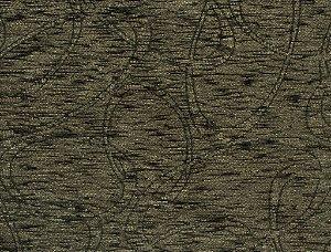 Tecido Chenille Abstrato Verde Musgo - Pol 54