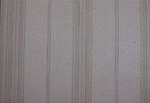 Papel de Parede Grace Linhas Branco Bege e Verde Claro - GR921101
