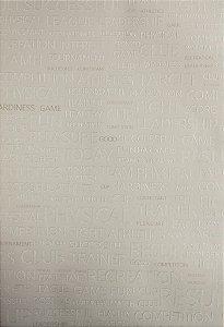 Papel de Parede Grace Cinza Claro e Branco - GR921302