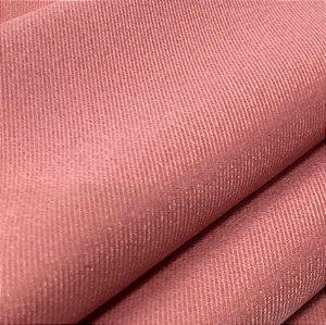 Tecido Veludo Rose liso, macio e confortável