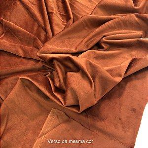 Tecido Veludo para Cortina 1,40 de largura - TerraCota