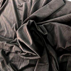 Tecido Veludo para Cortina 1,40 de largura - Grafitte