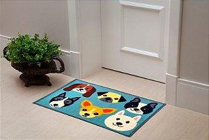 Tapete Capacho Color Art 40x60 - Pets