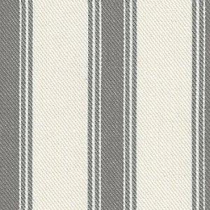 Tecido Listrado Cinza e Cru - Val 14