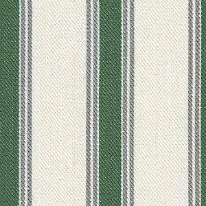 Tecido Listrada Verde, Cinza e Cru - Val  29