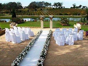 Passadeira Tapete Branco Para Casamento, Festas 15 Metros de comprimento
