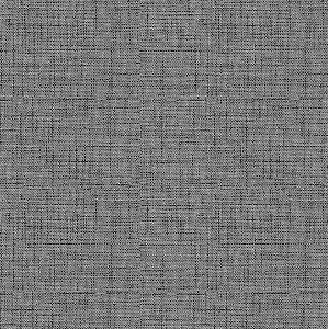Tecido Impermeabilizado Folhas Preto e Cinza - ASTV 131