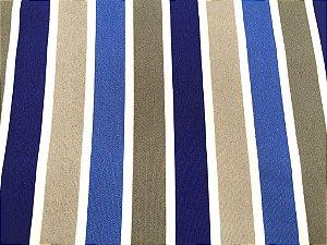 Tecido área externa Summer Listras Branca Azul Cinza 224