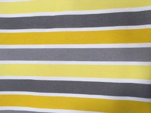 Tecido área externa Summer Listras Amarelo Branco Cinza 244