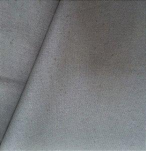 Tecido Linho Impermeabilizado Liso Cinza - Mace 26