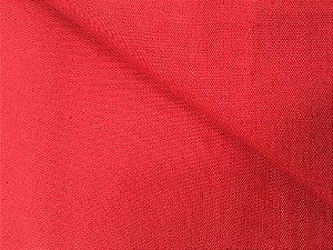 Tecido Linho Impermeabilizado Liso Vermelho Bordô - Mace 01