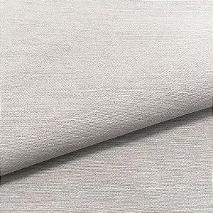 Tecido Linho Impermeabilizado Liso Cinza Claro - Mace 34