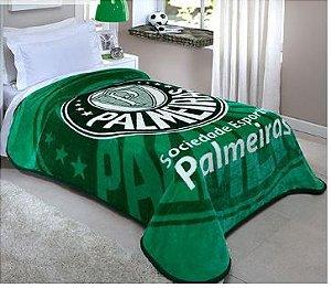 Manta Cobertor Palmeiras Oficial e Licenciado - Solteiro 2,00 m X 1,50 m