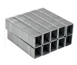 Grampo INOX 26/6 caixa com 625 grampos, não enferruja