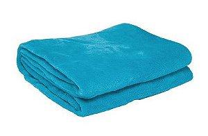 Manta Solteiro Azul II Microfibra Corttex Home Design 2,00 x 1,50 mts
