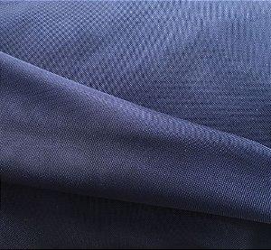 Tecido Voil Azul Marinho Liso