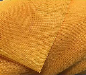 Tecido Voil Amarelo liso