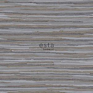 Papel de parede Cabana Listras Marrom e Cinza Escuro - 140-148619