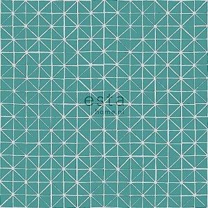 Papel de parede Marrakech Ladrilhos Verdes 138-148350