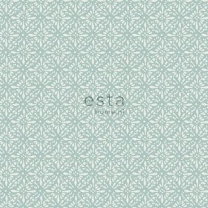 Papel de parede Marrakech Desenho Estilo Oriental Verde Claro 138-148320