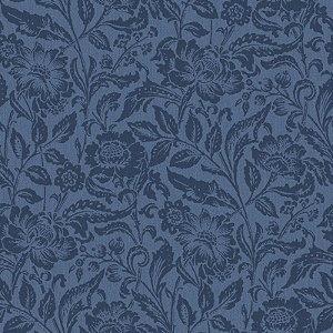 Papel de parede Marrakech Floral Azul Jeans 138-148323
