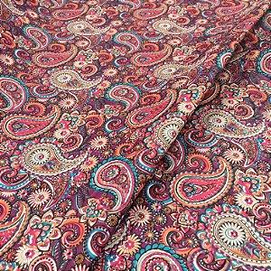 Tecido Corino Indiano Colorido Roxo texturizado fundo Vinho