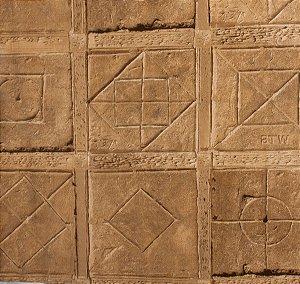 Papel de parede Neonature Estilo Muro de Pedras Bege PR-0161