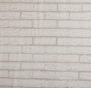 Papel de parede Neonature Muro de Tijolos Off White PR-8055
