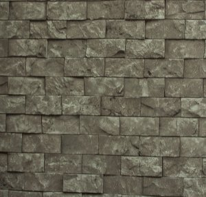 Papel de parede Neonature Estilo Parede de Tijolinhos Cinza PR-8021