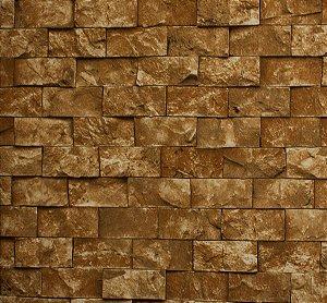 Papel de parede Neonature Estilo Parede de Tijolinhos Bege Escuro PR-8023