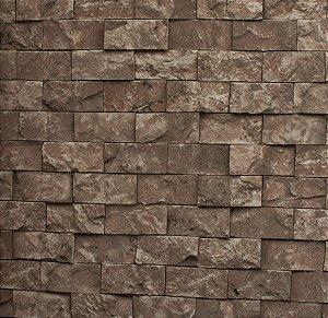 Papel de parede Neonature Estilo Parede de Pedras Cinza Rosado PR-8022