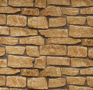 Papel de parede Neonature Estilo Tijolos Assimétricos Bege PR-8031
