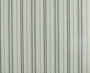Papel de parede Space III Creme com Riscas Pretas e Azul Claro SP-139503
