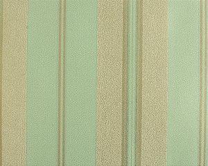 Papel de parede Space III Verde Claro, Cinza com Listras Dourado SP-138103