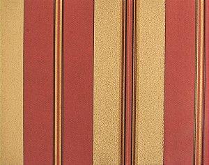 Papel de parede Space III Bordô, Dourado com Listras Pretas SP-138105