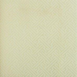 Papel de parede Space III Zig Zag Marfim com Ouro SP-138703