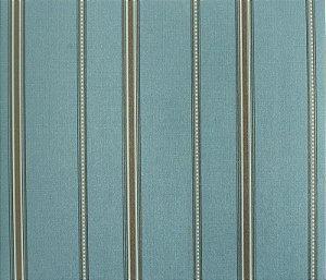 Papel de parede Space III Listrado com Bolinhas Branco e Azul Claro SP-138006