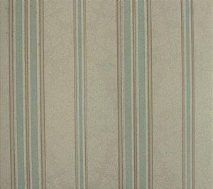 Papel de parede Space III Floral com Linhas Creme, Azul Claro e Marrom Claro SP-139301