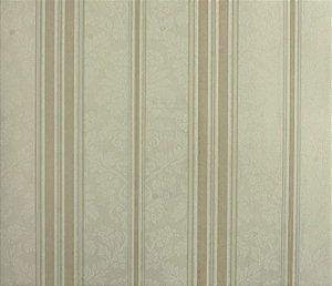 Papel de parede Space III Floral com Linhas Creme e Cappuccino SP-139302