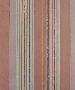 Papel de parede Ola Baby Listrado Rosa, Amarelo, Branco e Lilás FA-83402