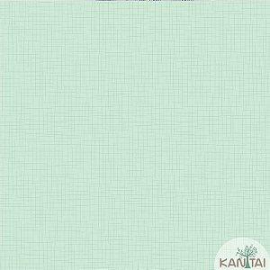 Papel de parede Barcelona Quadriculado Verde Acqua BC-380402