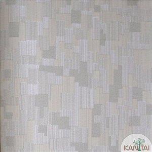 Papel de parede Barcelona Riscas Texturizadas Bege Claro com Fendi BC-382702