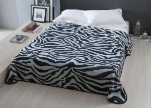 Cobertor Casal Raschel Pretoria 2.20x1.80 metros Microfibra Ultra Macio