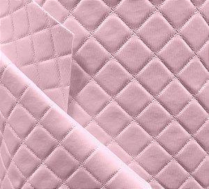 Tecido Corino Dijon para Moveis e decoração Rosa Bebe